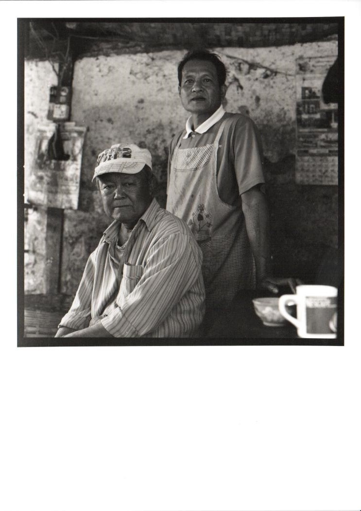 The butcher and his father
