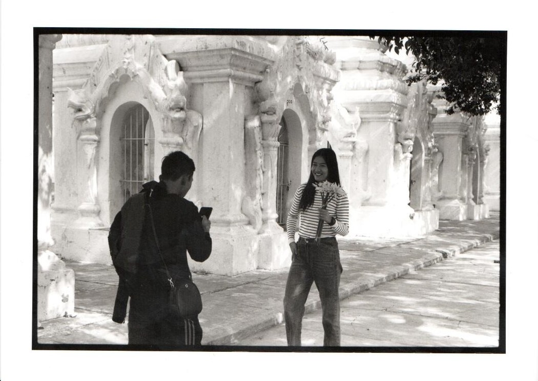 Temples as shooting scene for lovers