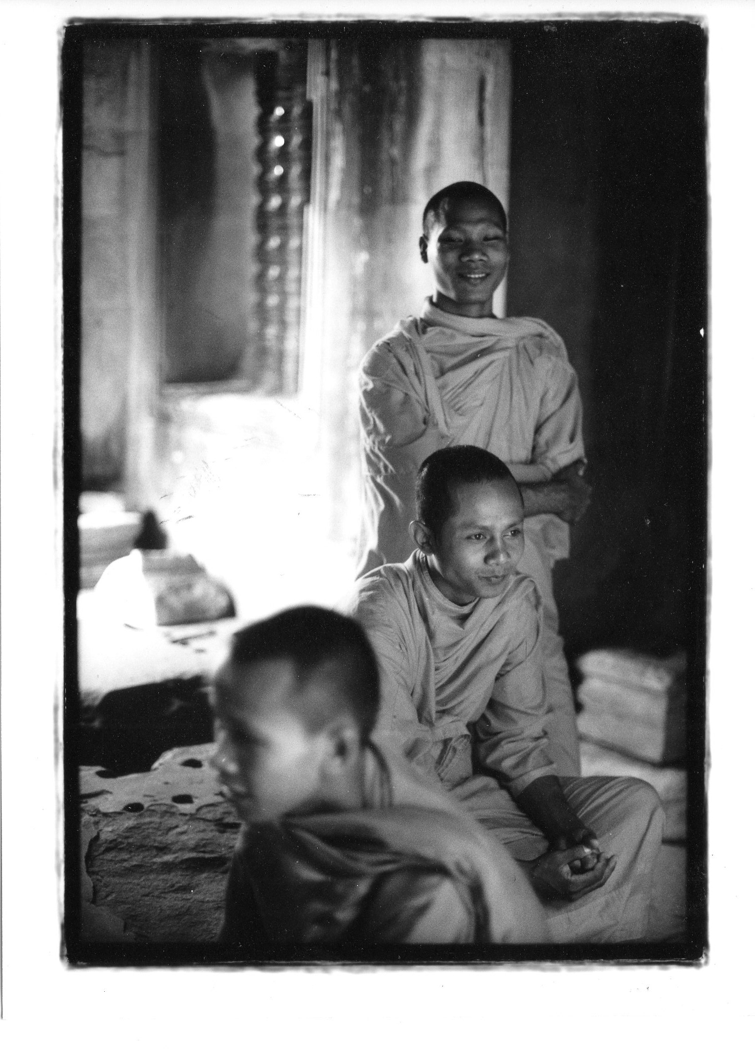 3 Monks in Angkor
